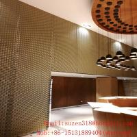 lowes expanded sheet metal architectural decorative mesh design Manufactures