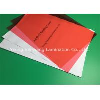 Rigid Red Glossy PVC Binding Covers A3 Subtle Dull Polish For Anti - Skid Manufactures