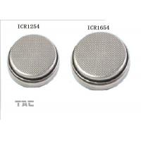 Lithium ion Button Cell For Blue Tooth Phone , Lithium Coin Cell Battery Manufactures