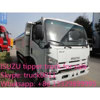 ISUZU 4*2 6-8ton dump truck for sale, factory sale China cheaper prcie ISUZU brand dump tipprt truck Manufactures