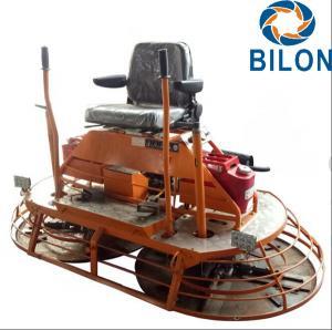 High Efficiency Concrete Ride On Power Trowel 24HP Driving Type Multiquip Trowel Machine Manufactures