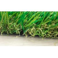 Monofl PE + Curled PP Garden Artificial Grass 10000 Dtex Decorative Fake Grass Carpet Manufactures