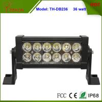 7.5 inch Low Profile 36W LED Light Bar for Trucks, Double Row Light Bar in classic style Manufactures