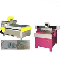 Ultra Thin Glass Cutting Machine For Shaped Linear Glass Cut , NC Control System Manufactures