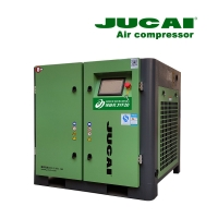 Easy Installation 15kw 8bar 20 Hp Screw Compressor Compact Jucai Air Compressor Manufactures