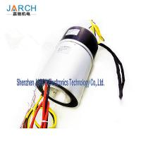 4 Hydrualic Hole Electrical Slip Ring 5000 Psi 0 - 20rpm Speed For Excavator Manufactures