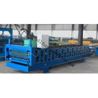 High Speed Standing Seam Double Layer Roll Forming Machine ,Bemo Roof Tile Making Machinery Manufactures