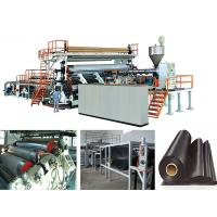 Solid Wall Water Gas Plastic Pipe Making Machine Extrusion Line , FCC Manufactures