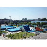 Hot sale Steel Frame Swimming Pool for rental Manufactures