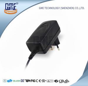 China FCC Universal 12 Watt Power Supply , AC DC Computer Power Supply 9 Volt on sale