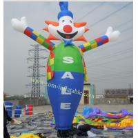 sky dancer inflatable sky dancer inflatable Clown man character sky dancer for advertising Manufactures