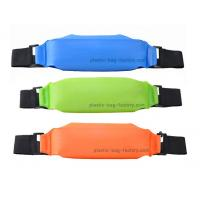 Colorful TPU Waterproof Sports Bag , Dry Bag Waist Pack For Mobile Phone / Camera