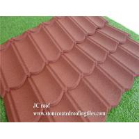 Stone Coated Steel Roof Tile Type and Al-Zn Alloy Coated metal Sheet Material Roof Tile Manufactures