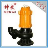 1.1kw small type cast iron drain water pump, 15m3/h,9m sewage submersible pump Manufactures
