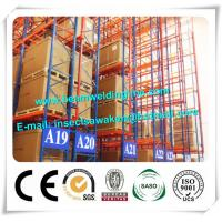 Professional Heavy Duty Pallet Rack For Warehouse Pallet Cargo Manufactures
