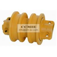PC150 PC220 PC400 Excavator Komatsu Spare Parts Track Roller With Steel Metal Material Manufactures