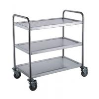 Buy cheap Disassembly-Assembly Type Round Tube Stainless Steel Trolley Welding-type Square Tube Stainless Steel Trolley from wholesalers