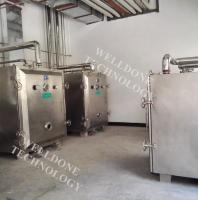 Herbal / Plant Extract Vacuum Tray Dryer Static Drying Square / Round Shape Manufactures