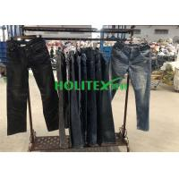 Second Hand Mens Clothing , Korean Style Used Mens Jeans Pants For Southeast Asia Manufactures