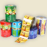 China Printing Plastic Roll Film , Food Packaging Film For Snack Packing on sale