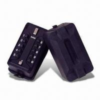 10-bush Button Lock Box/Key Safes with Zinc Alloy Lock and Rubber Cover Manufactures