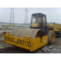 Bomag Bw217d Second Hand Road Roller FOR SALE, Paving Roller Machine Two Drive Manufactures