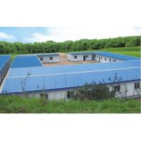 Quality PVC Down Pipe Poultry Farm Structure With Grey paint Surface for sale