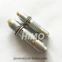 14pin lemo straight plug connector compatible male and female terminal push pull 1B series Manufactures