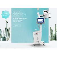 650nm Diode Laser Hair Restoration Machine With 8 Inch Multi Color Touch Screen CE Approved Manufactures