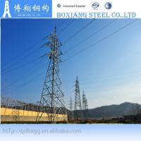 China electrical power transmission tower on sale