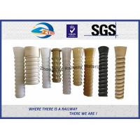 High Quality Railway Plastic Dowel for Railway Screw Spike for SKL 14 Fastening system at HDPE or PA66 Manufactures