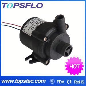 TOPSFLO dc mini water pump/hot water circulation pump/silent sound sleep mat pad pump TL-B01 Manufactures