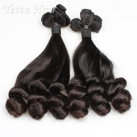 China Real Indian Funmi Virgin Hair , Remy Human Hair Weave For Black Women on sale