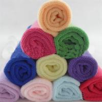 25*25cm Absorbent Microfiber multifunctional Square Car & Kitchen Cleaning Towel Manufactures