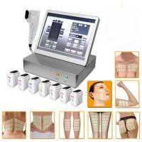 Quality Hifu Ultherapy Machine Ultrasound Skin Tightening Hifu Face And Neck Lift for sale