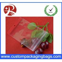 Durable Shock Resistant Zipper Stand Up Pvc Hook Bag Waterproof Eco Friednly Manufactures
