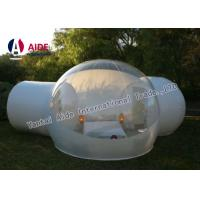 Outdoor Bubble Tent PVC Clear Camping Tent 4M Diameter & 2 Fitting Room Manufactures