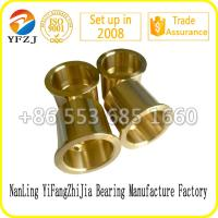 Quality high quality manufacture bearing factoy bush,Crusher bronze bushing,Oil Groove Bronze Bushing for sale