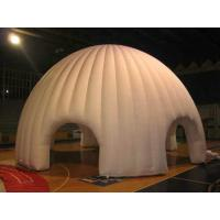 White Oxford Cloth Durable Inflatable Dome Party Tent For Advertising Manufactures
