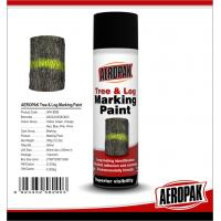 Fluorescent Orange Tree And Log Marking Paint Waterproof With Strong Adhesive Manufactures