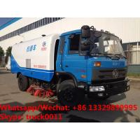 2018s Factory sale best price RHD 170hp diesel road brushing sweeping vehicle for sale, Cheapest price street sweeper Manufactures