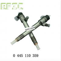 EPIC Injector 0 445 110 359 Common Rail Cloud engine 4cy1._3.0L, YN30CR,Valve F 00V C01 358 Manufactures