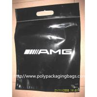 ECO Friendly Loop Handle Bottom Gusseted Poly Bags For Clothing Manufactures