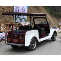 4 Seats Electric Vintage Cars With Powerful Motor Classic Tour Car Old Style Manufactures
