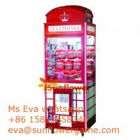 Arcade Telephone Toy Crane Machine For Sale Plush Toy Catcher For UK market from China Supplier Manufactures