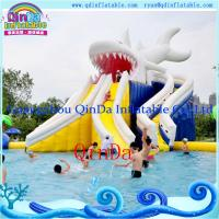 Inflatable Water Park Water Slide for Summer Playing inflatable water park pool slide Manufactures