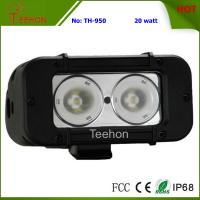 20W 5 Inch Single Row CREE off-Road LED Light Bar for 4WD Vehicles Manufactures