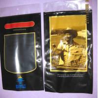 Plastic Printed PET + LDPE Cigar Fresh  Packaging Bags with Sponge with humidified system inside Manufactures