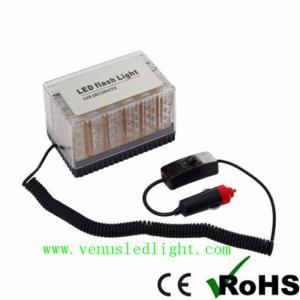 48 LED Amber Car Roof Flashing Flash Strobe Emergency Top Light Manufactures