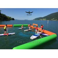 Attractive Inflatable Buoys Swimming Tube Floats With Goal SUP Field Manufactures